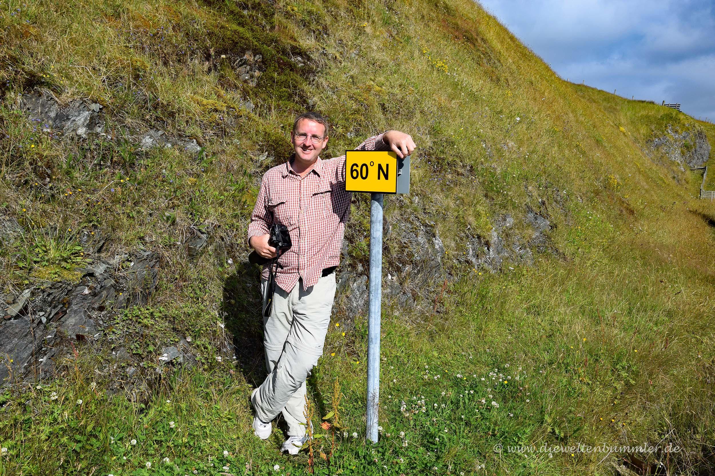 Michael Moll am 60. Breitengrad