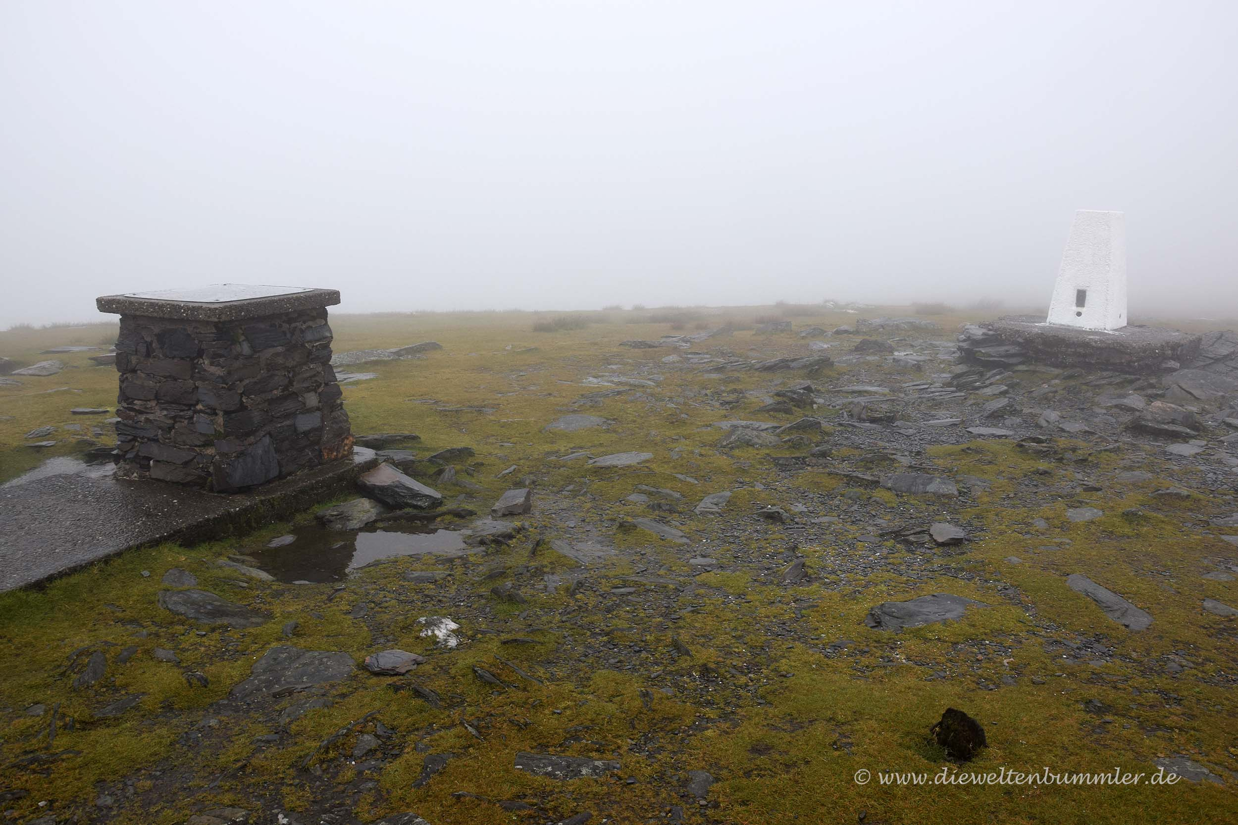 Gipfel des Snaefell
