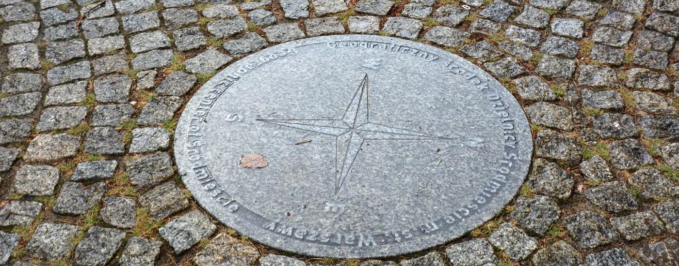 Mittelpunkt von Warschau
