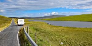Mit dem Wohnmobil auf die Shetland-Inseln