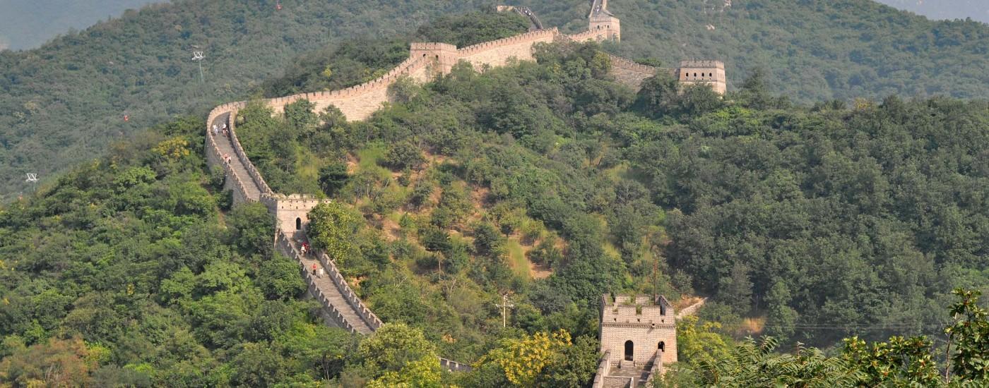 Great Wall of China in Mutianyu