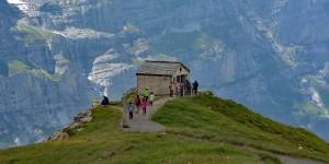 Wanderung auf dem Eiger Walk