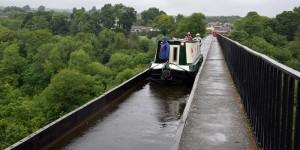 Überquerung des Pontcysyllte-Aquädukts