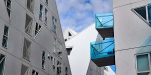 Modernes Wohnen im Eisberg von Aarhus