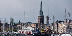 Blick auf Aarhus