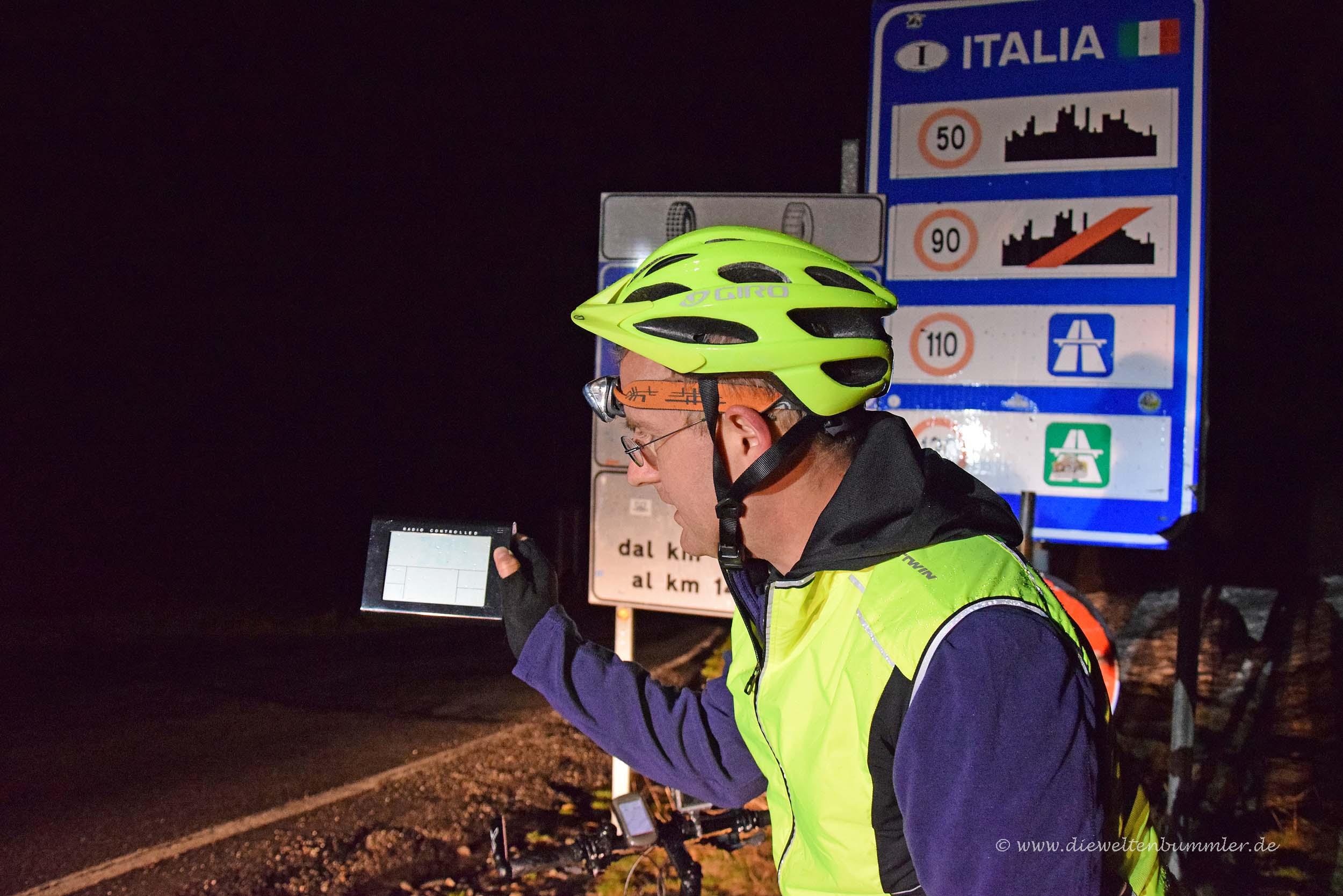 Start in Italien