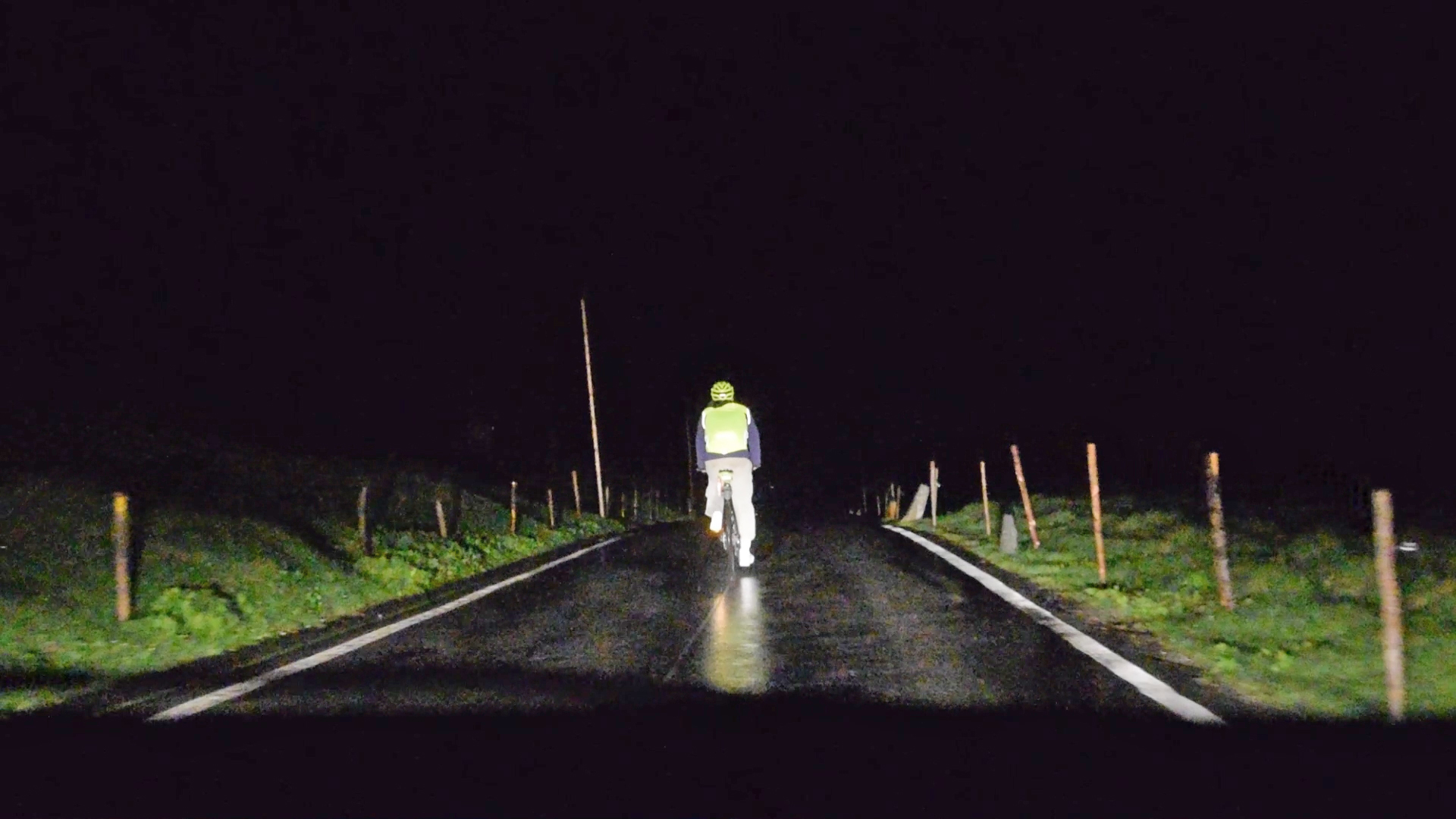Abfahrt in der Nacht