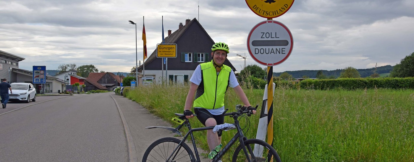 Michael Moll auf dem Rad