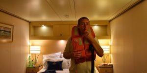 So ein Bild gibt es auch von der Frachtschiffreise