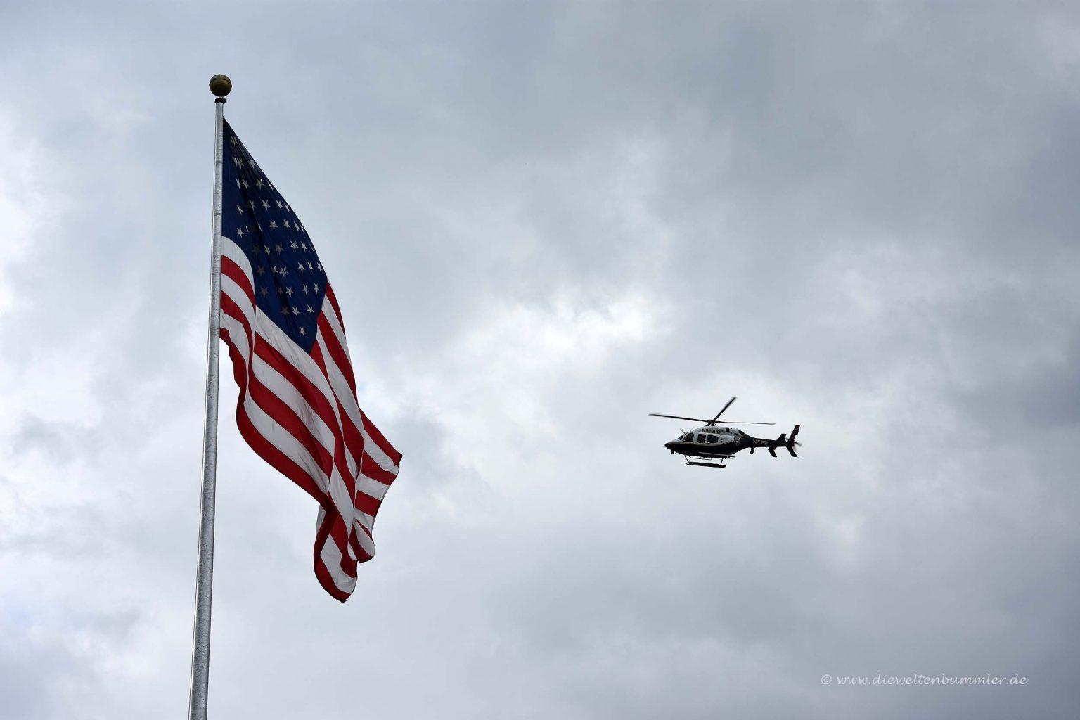 Hubschrauber vom NYPD