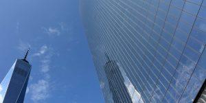Spiegelung des WTC