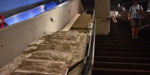 Originale Treppe vom WTC
