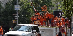 Parade zum Labour Day