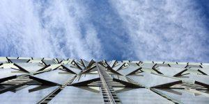 Das WTC von unten