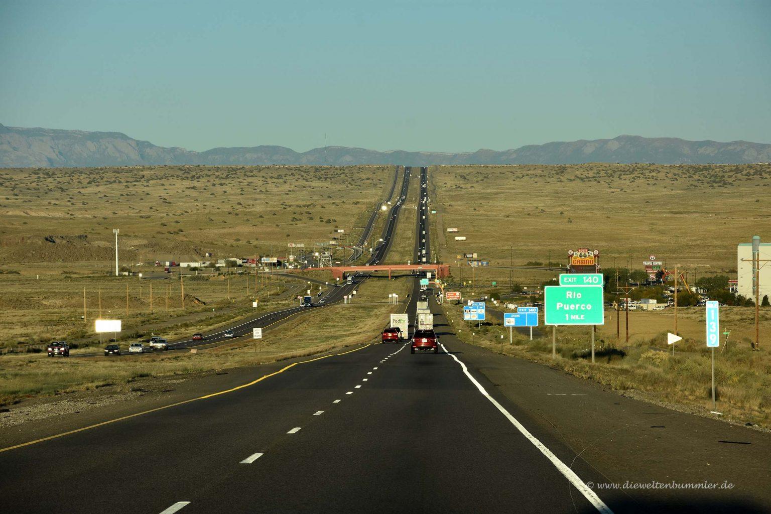 Straße nach Albuquerque