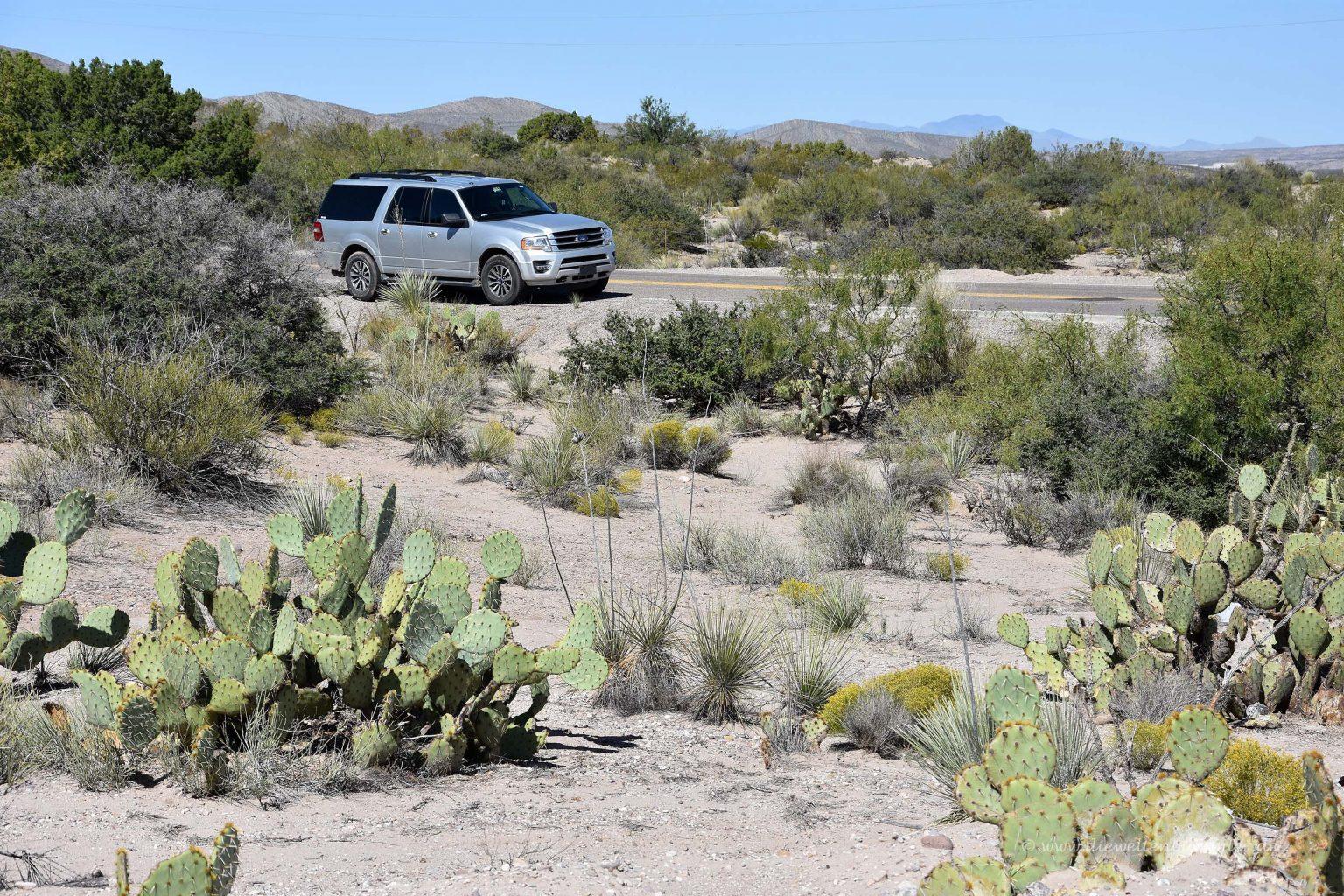 Landschaft in New Mexico