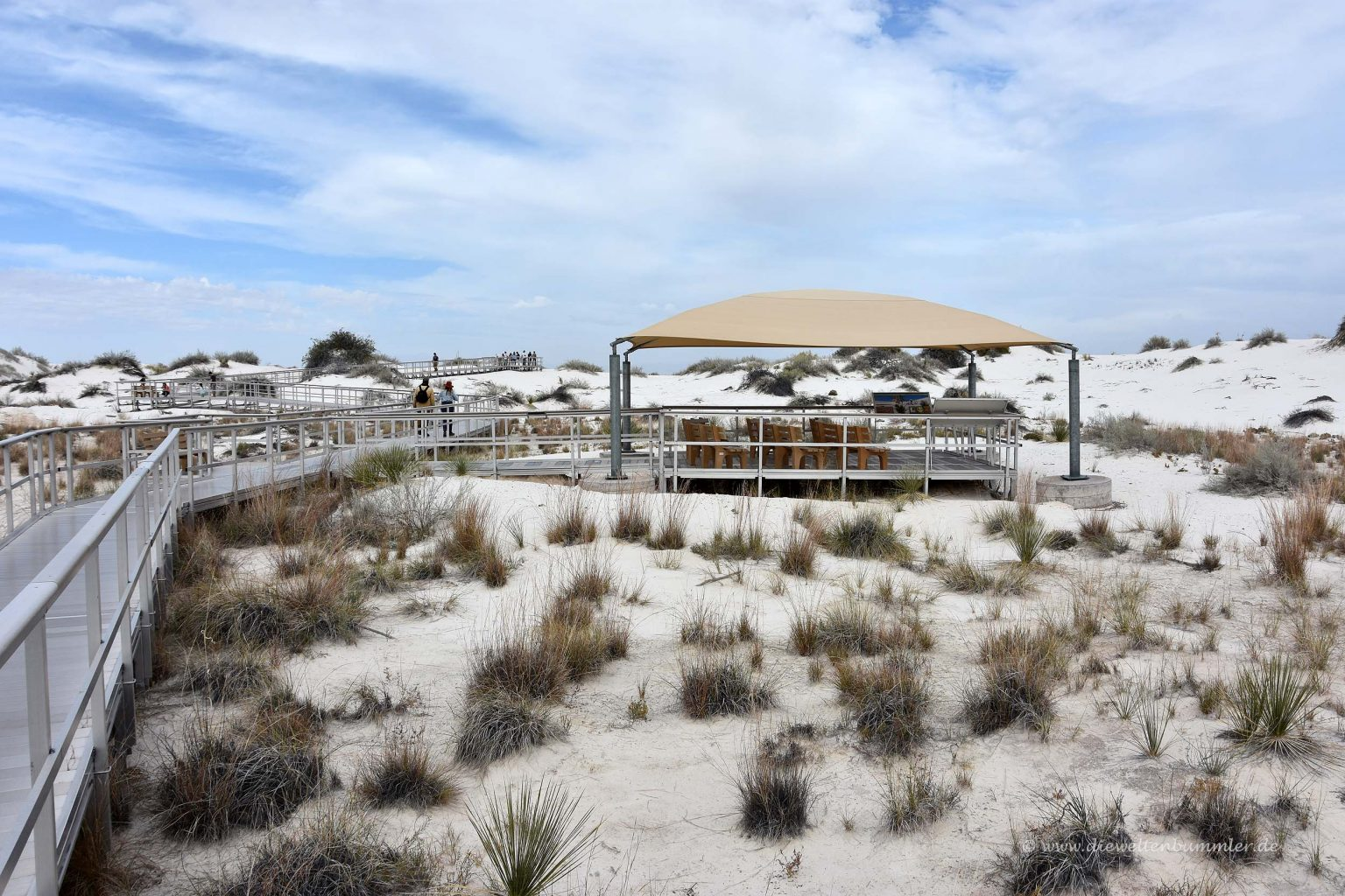 Picknickplatz im White Sands