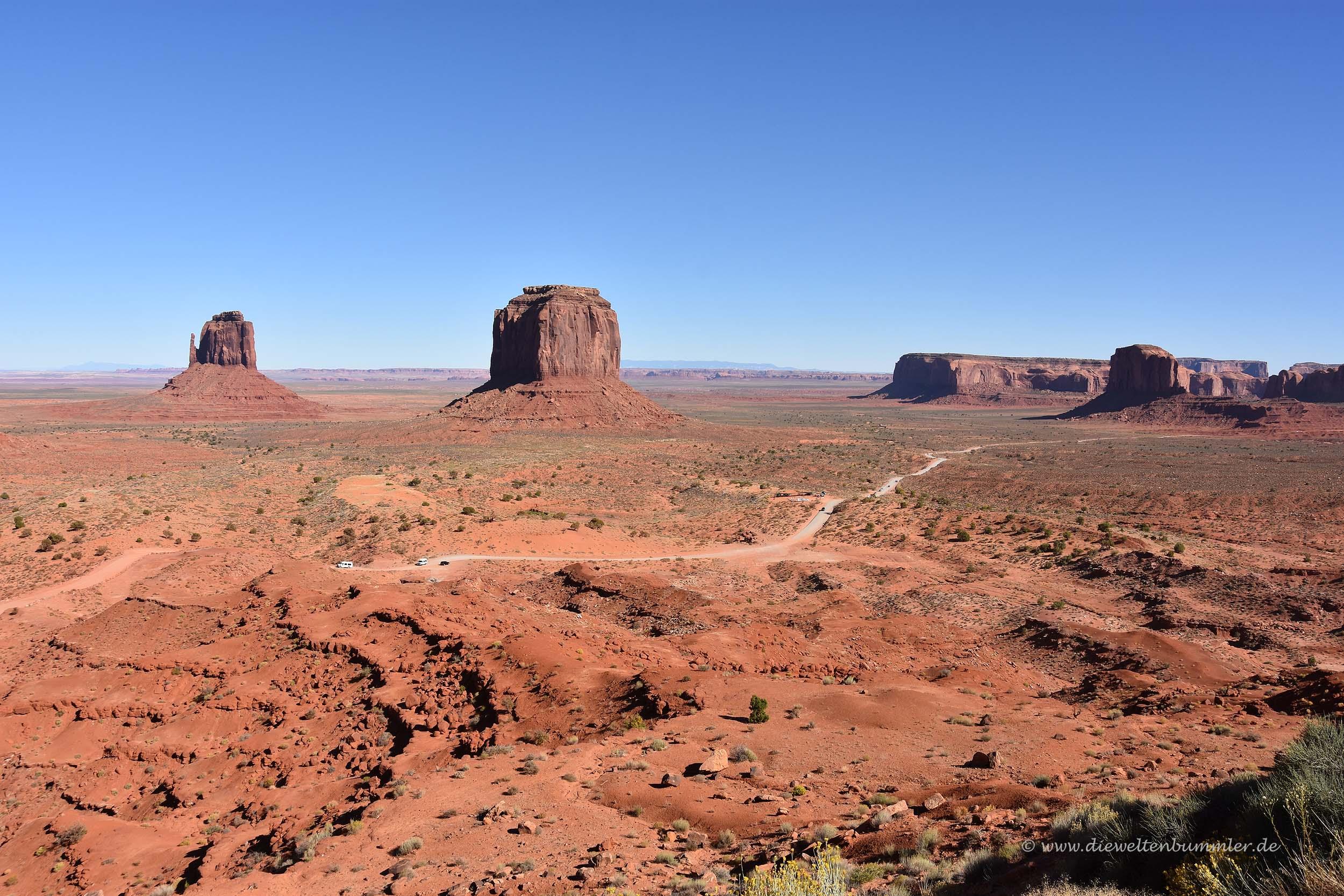 Weites Monument Valley