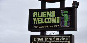 Aliens in Roswell