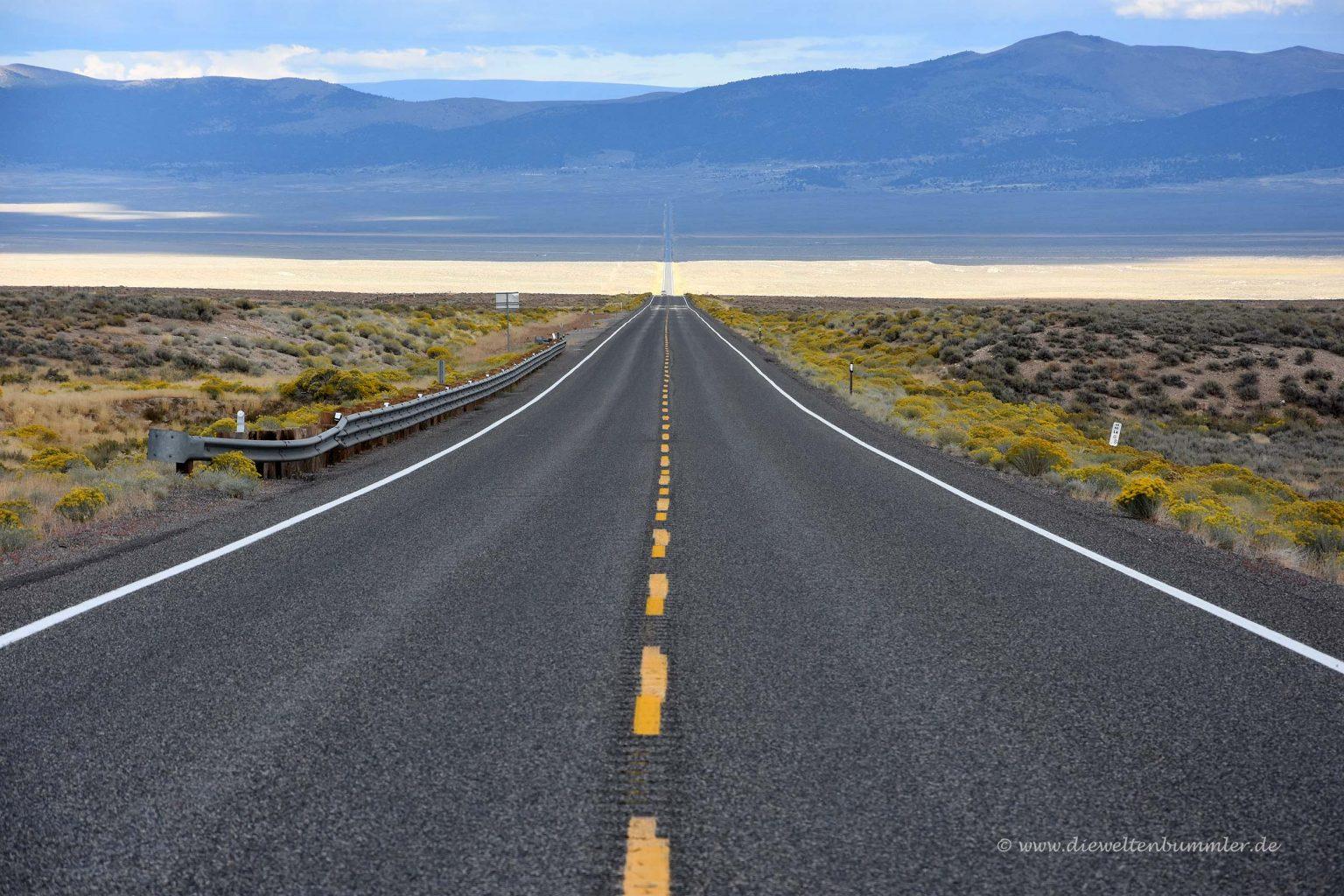 Einsamer Highway 50