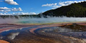 Grand Prismatic Spring im Yellowstone-Nationalpark