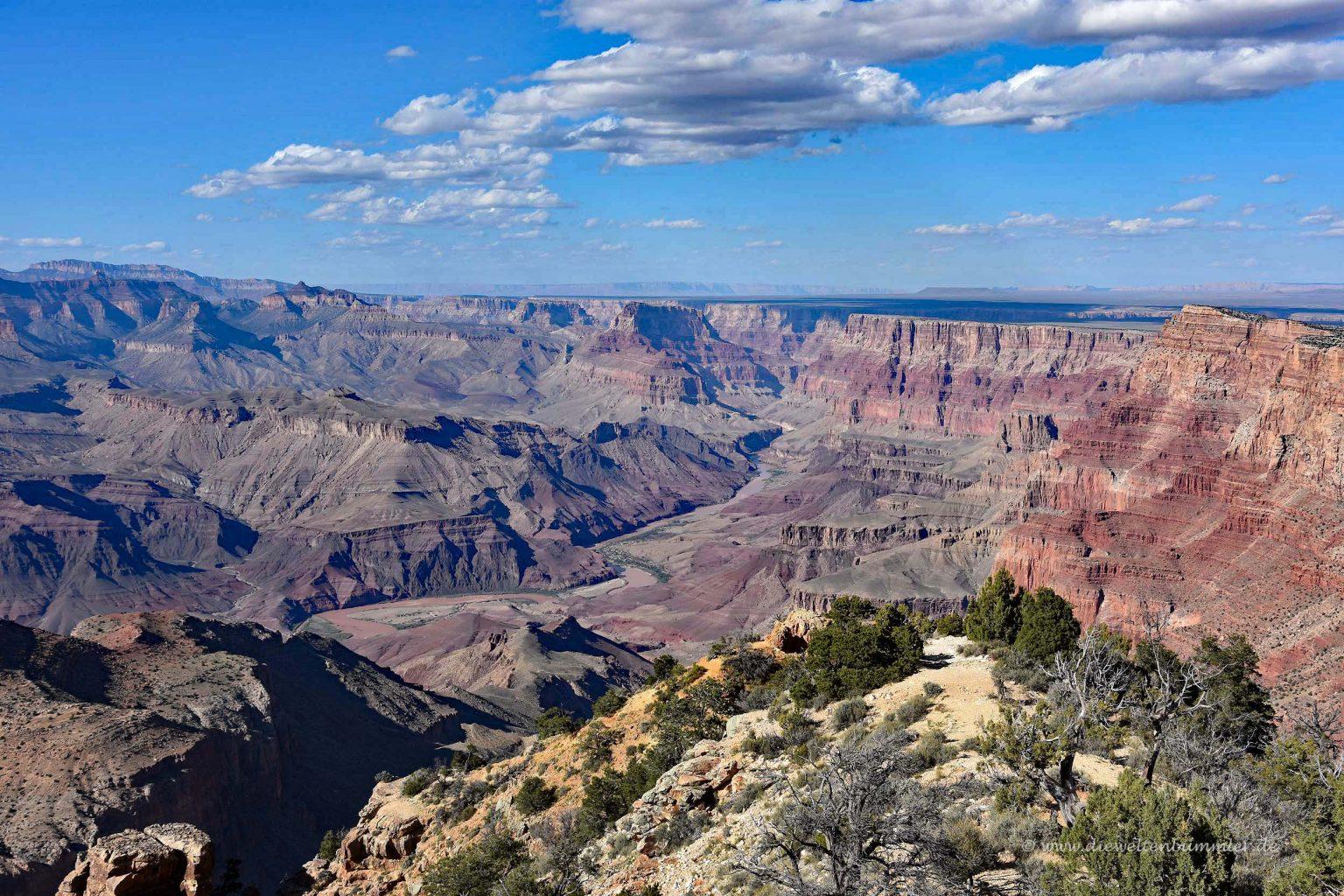 Ausblick über den Canyon