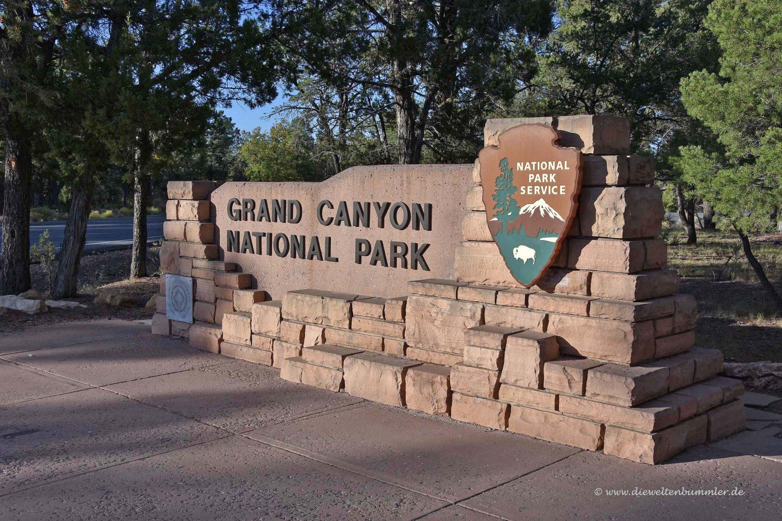 Einer der Eingänge zum Nationalpark