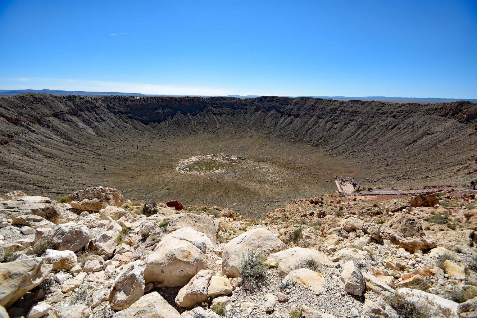 Barringer-Krater in Arizona