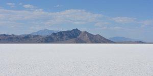 Große Salzwüste in Utah