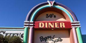 Das Peggy Sues Diner in Kalifornien