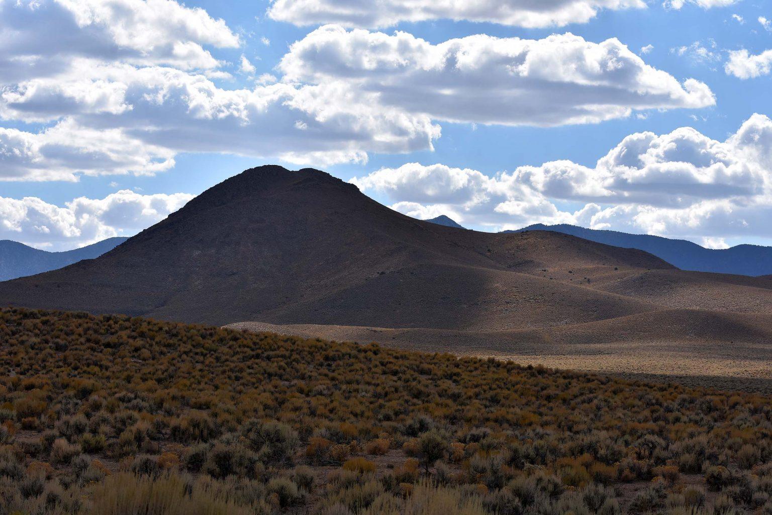 Hinter dem Hügel befindet sich Area 51