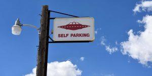 Außerirdische auf dem ET-Highway in Nevada