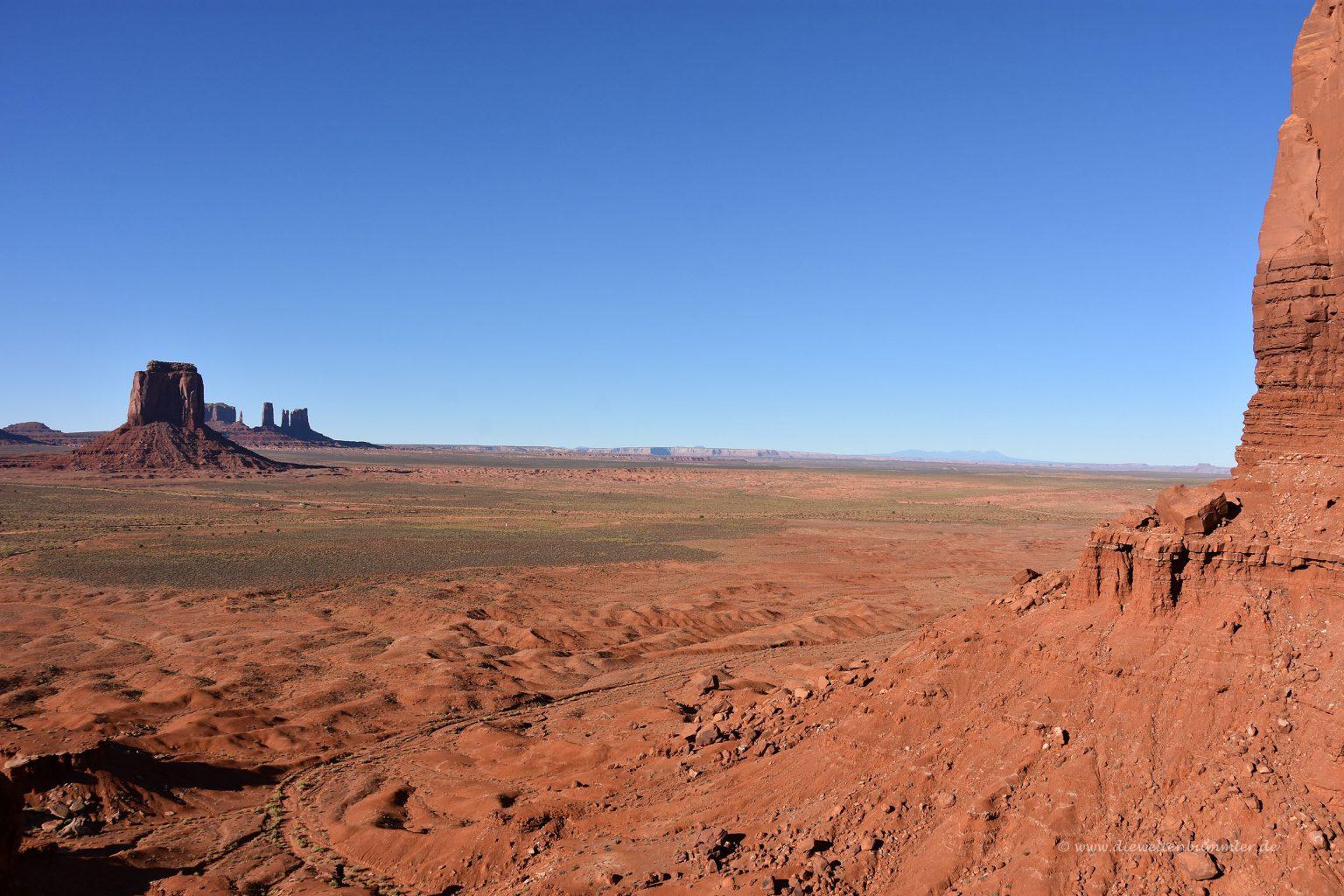 Blick zum Merrick Butte