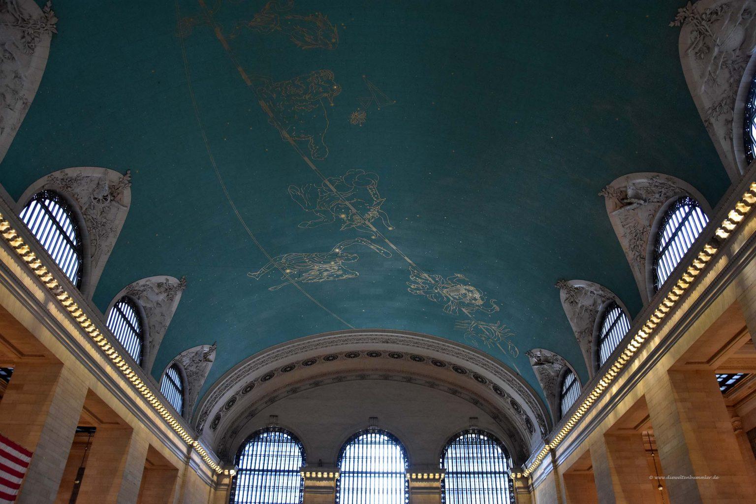 Deckengewölbe im Grand Central Terminal