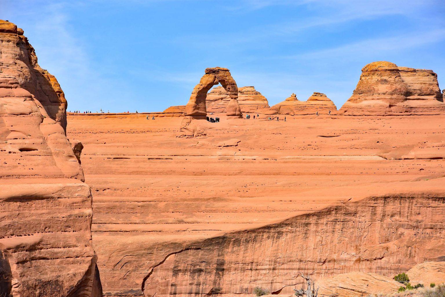 Delicate Arch von Weitem