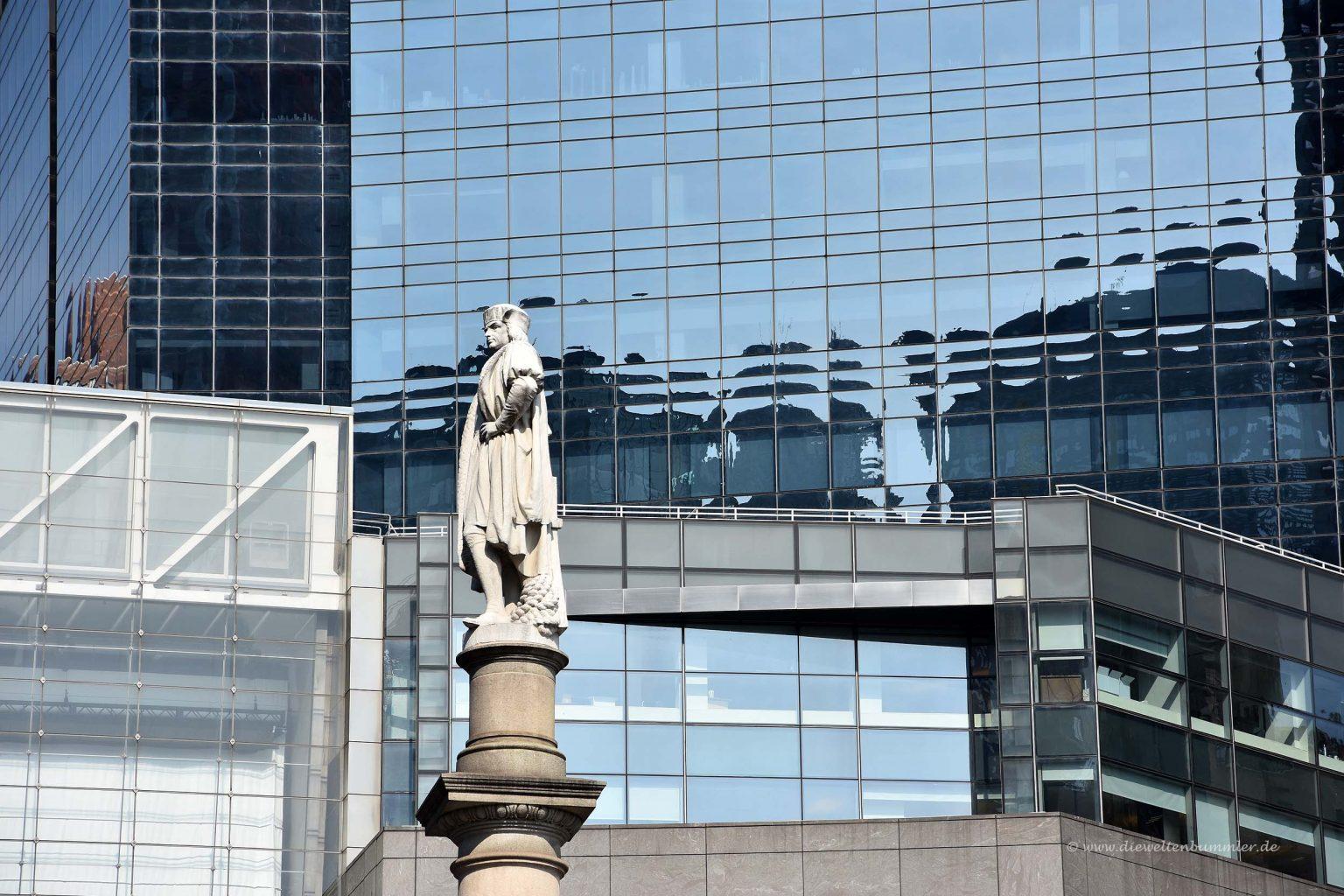 Der Columbus Circle befindet sich an der südwestlichen Ecke