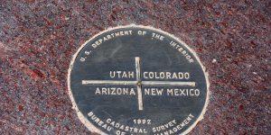 Dreiländereck von Utah, Colorado, New Mexico und Arizona