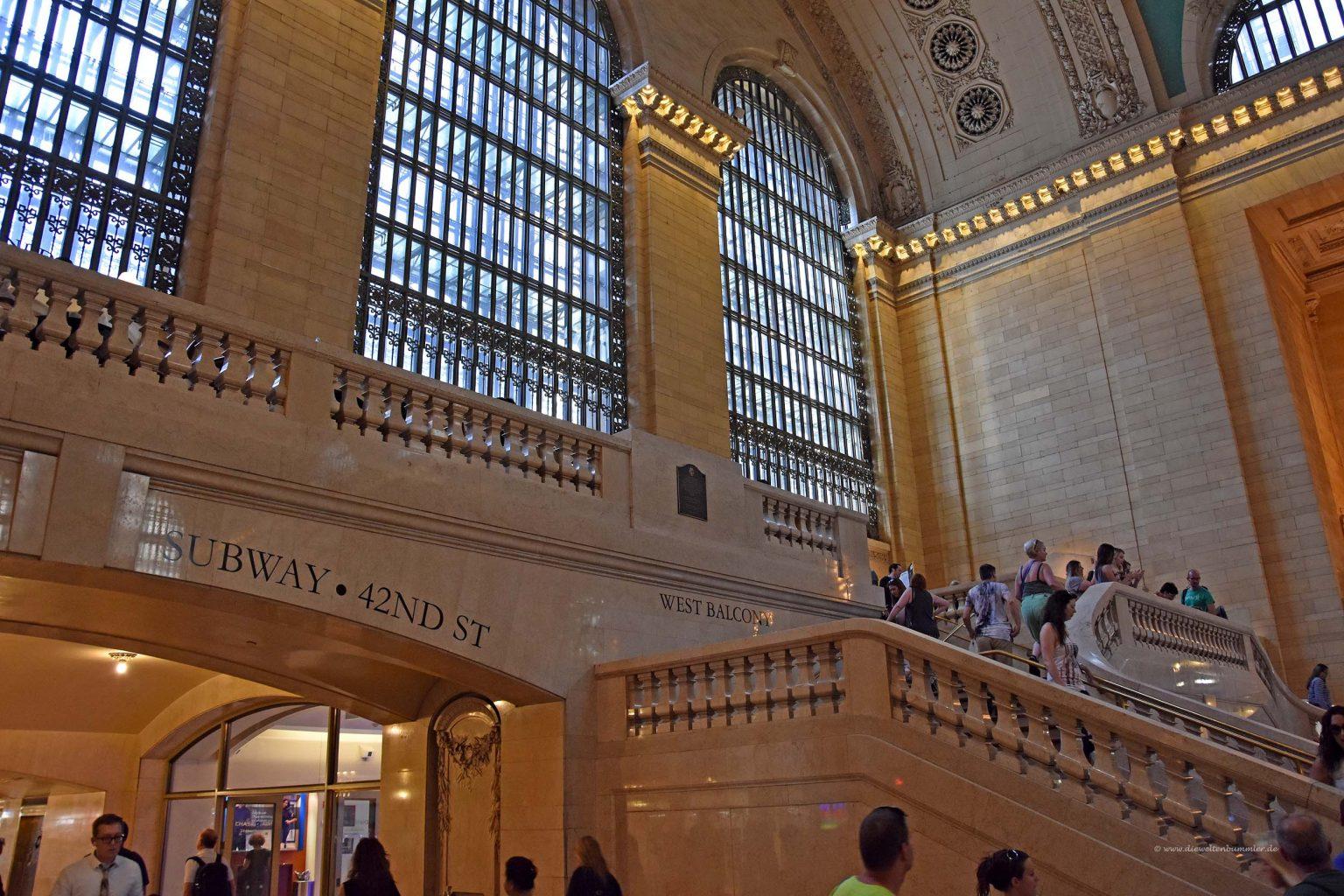 Große Fenster im Grand Central