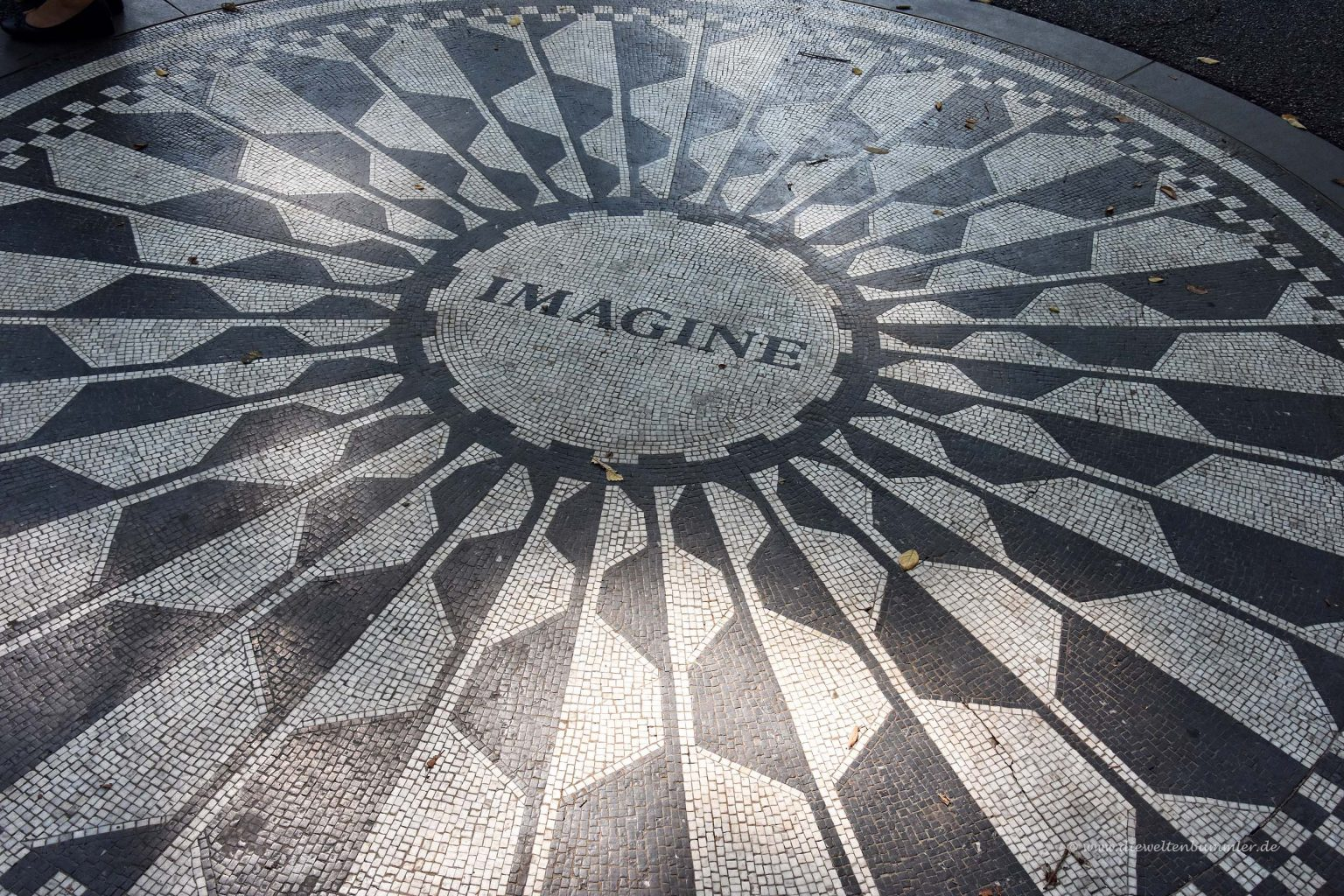 Imagine im Strawberry Field