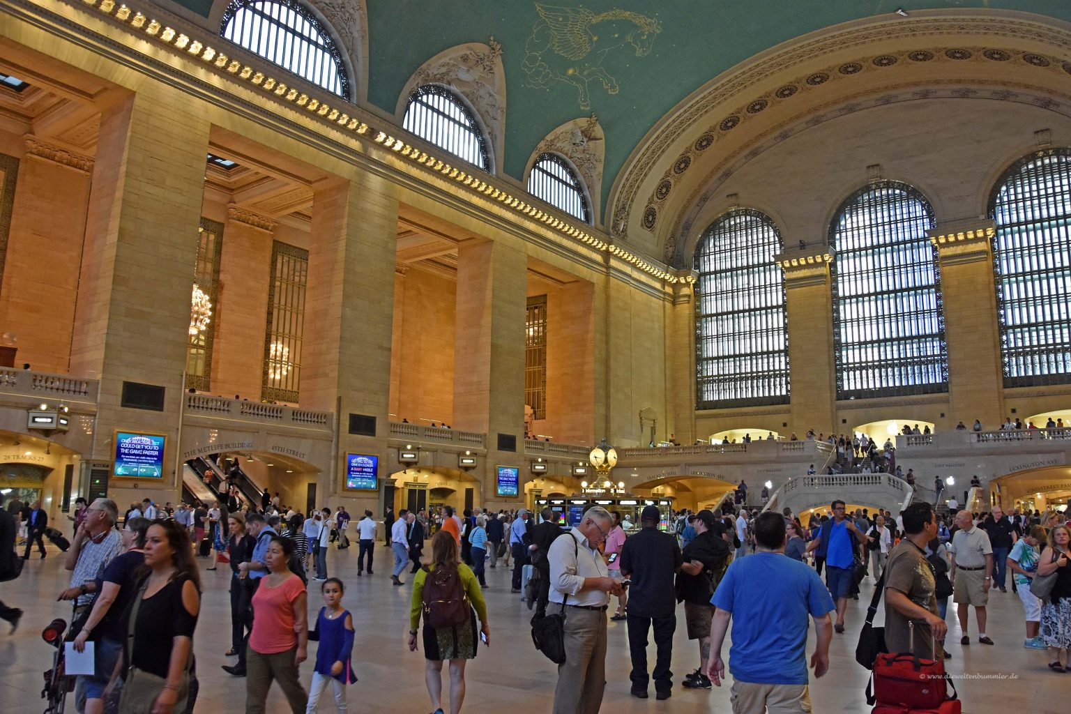 der bahnhof grand central terminal in new york die weltenbummler. Black Bedroom Furniture Sets. Home Design Ideas