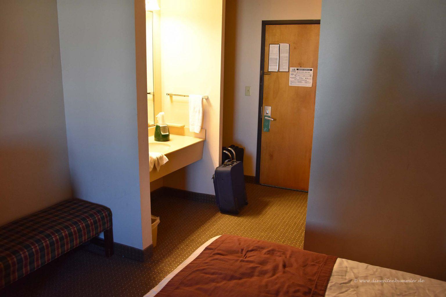 erfahrungen mit hotels und motels in den usa die weltenbummler. Black Bedroom Furniture Sets. Home Design Ideas