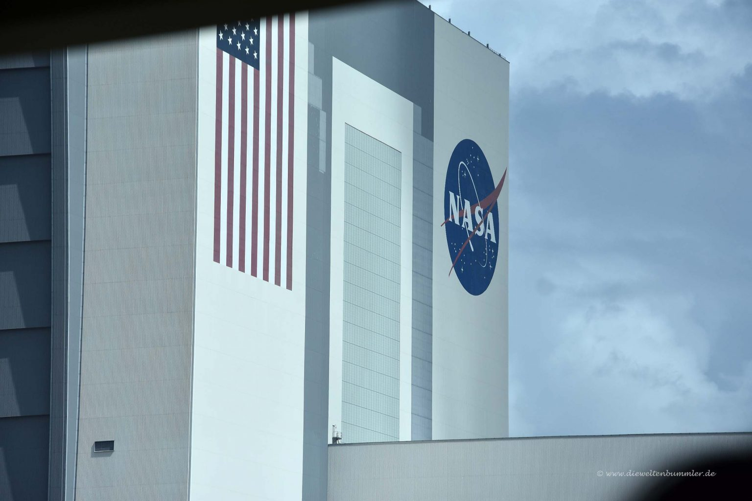Das riesige Vehicle Assembly Building