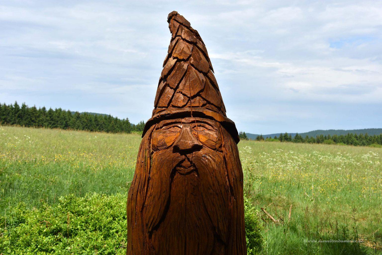 Zwerg aus Holz