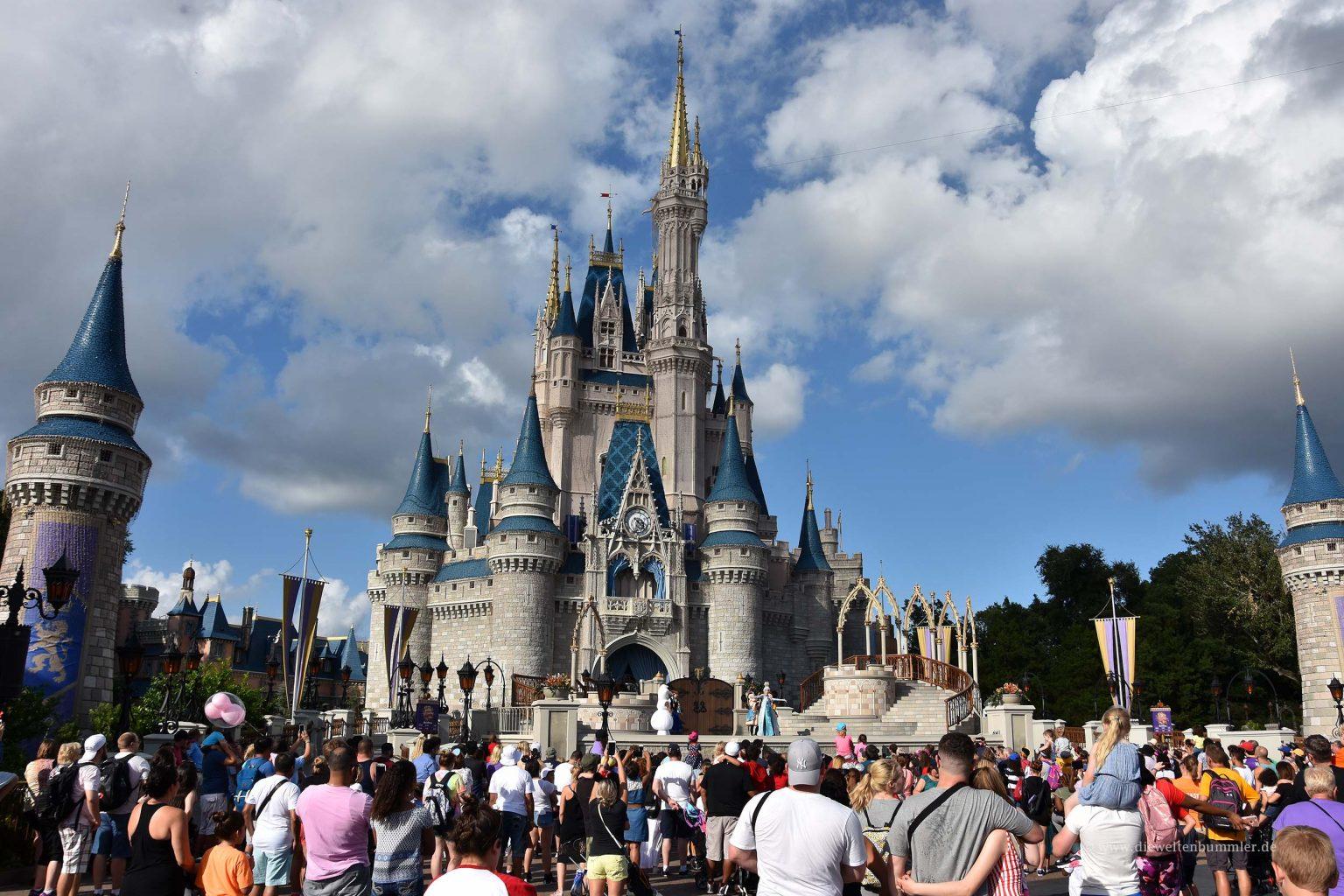 Cinderella Schloss im Disneyworld