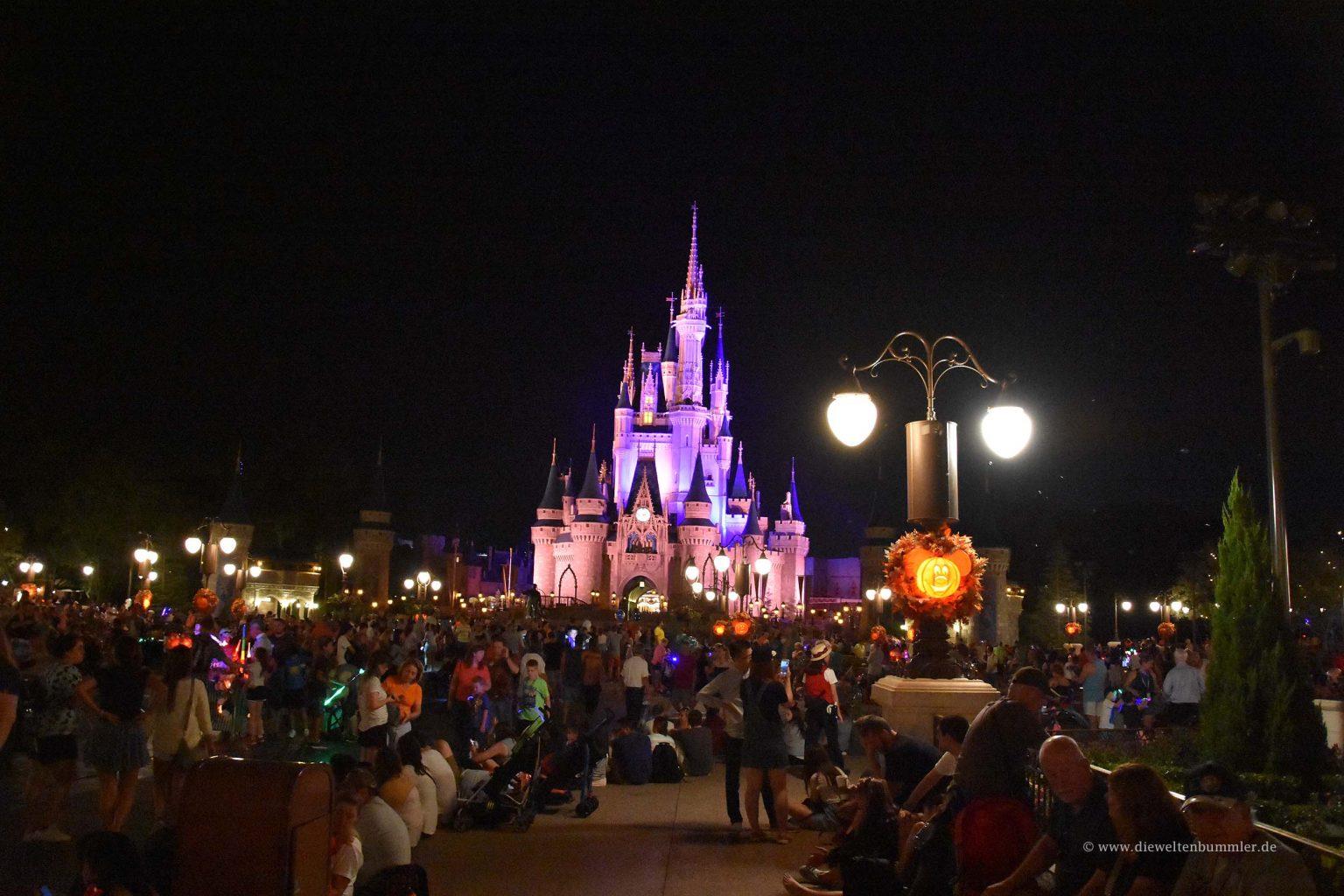 Cinderellaschloss in der Nacht