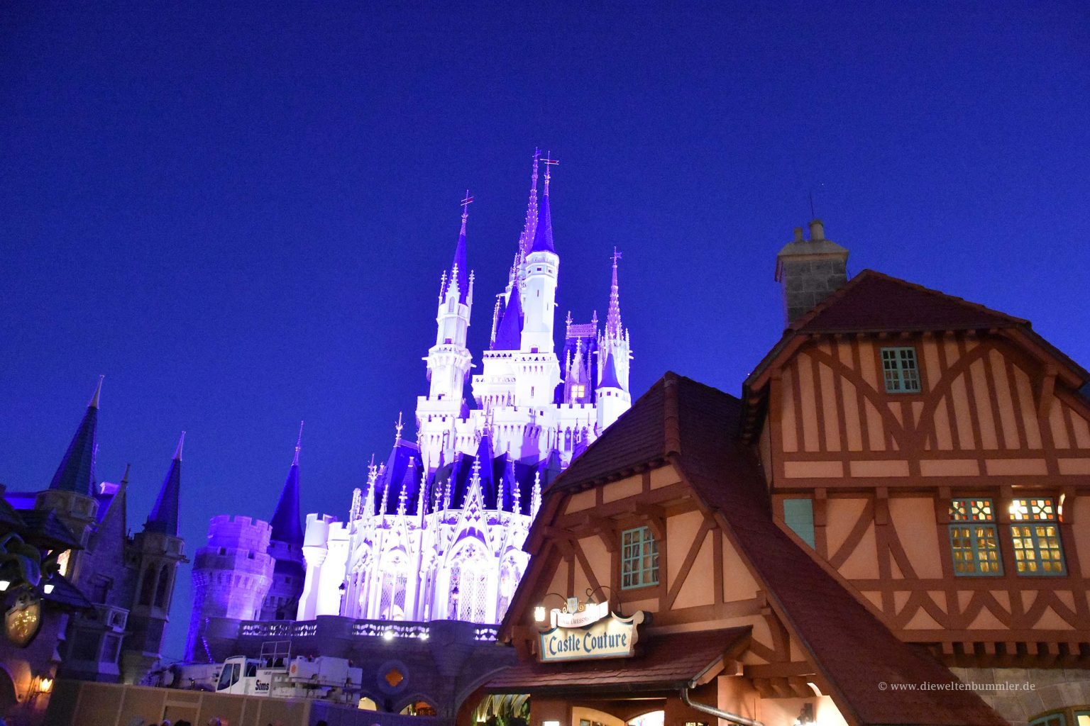 Schloss am Abend