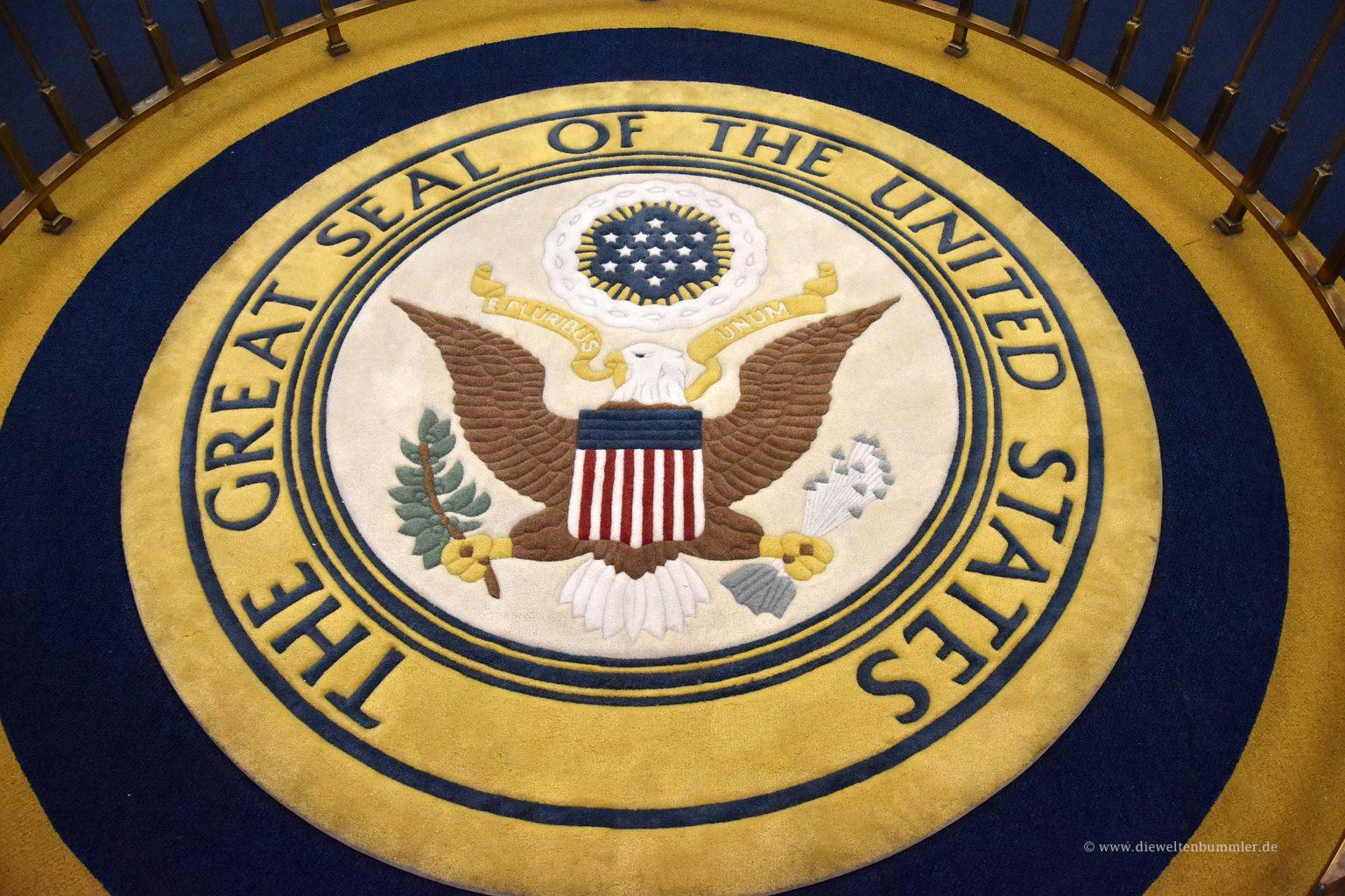 Siegel der US-Präsidenten