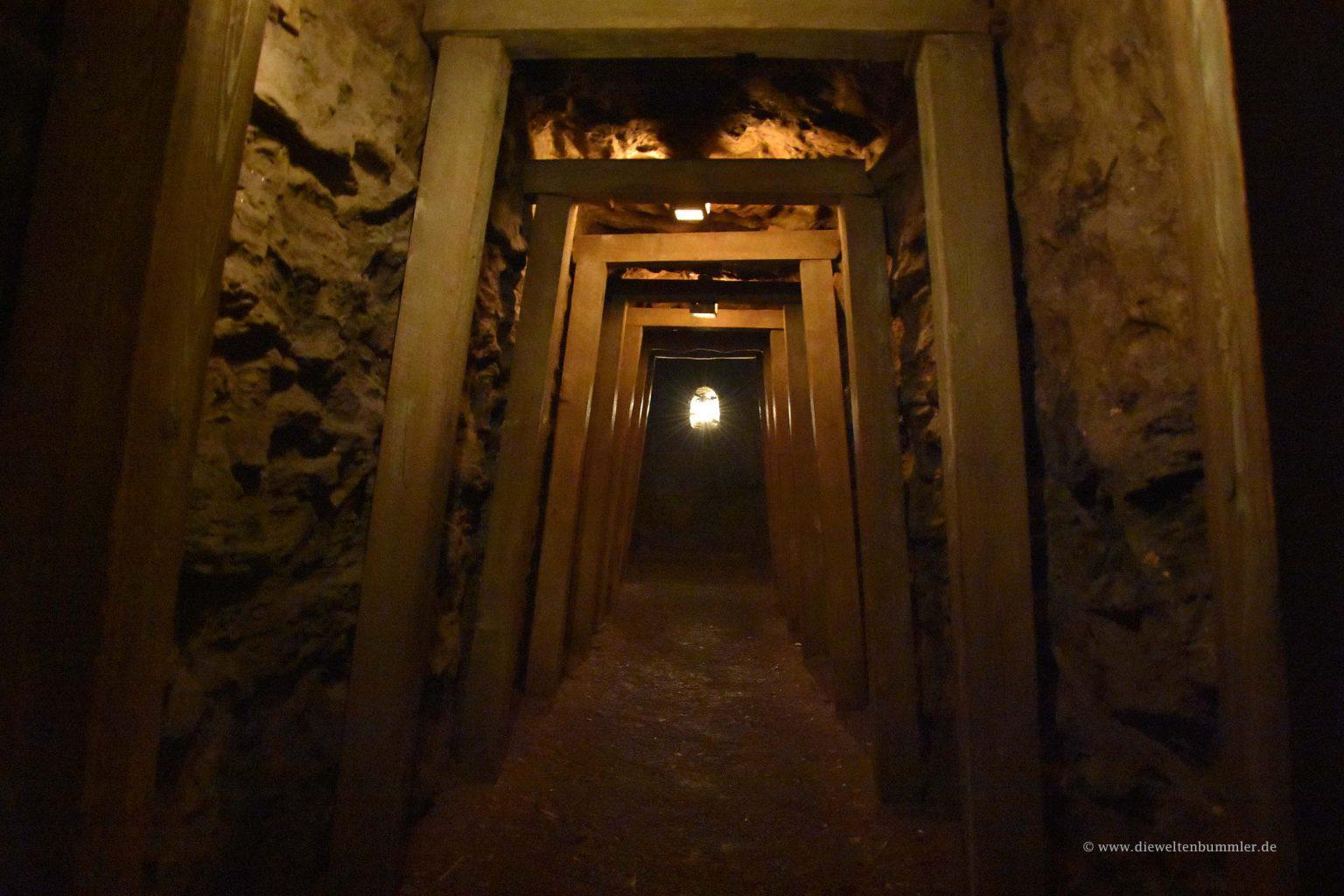 Tunnel auf der Tom-Sawyer-Insel
