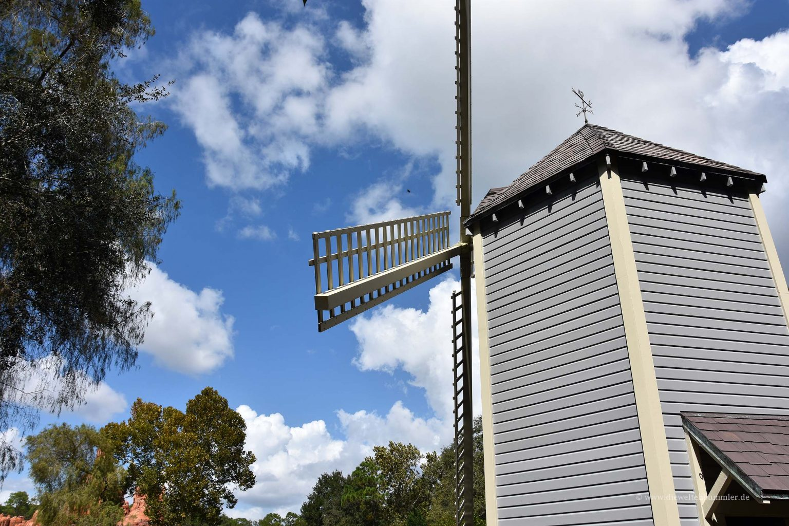 Windmühle auf der Insel von Tom Sawyer