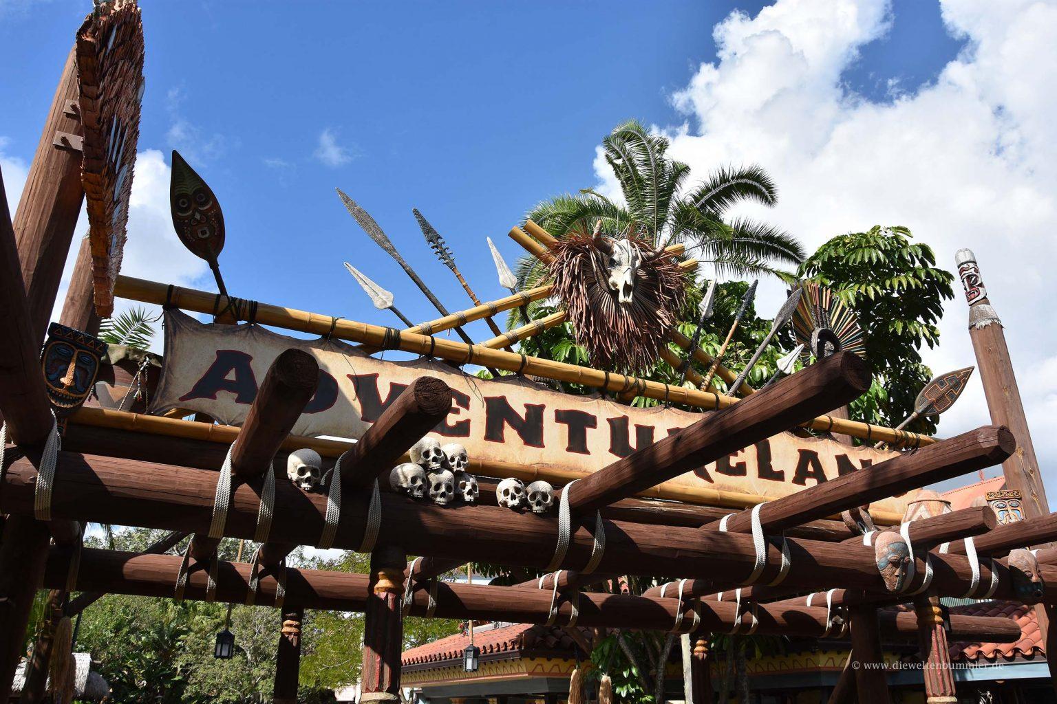 Zugang zum Adventureland
